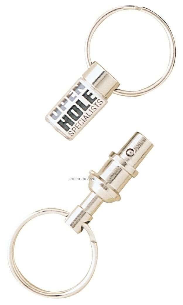 Snap-apart Double Key Ring