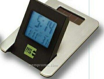 Dual Powered Calendar Alarm Clock