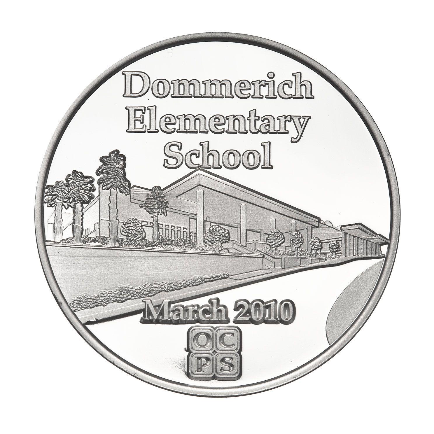 "Fine Silver Coin - Medallion (1-1/2"")"