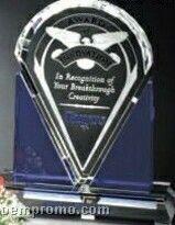 "Indigo Gallery Crystal Distinction Award (9"")"