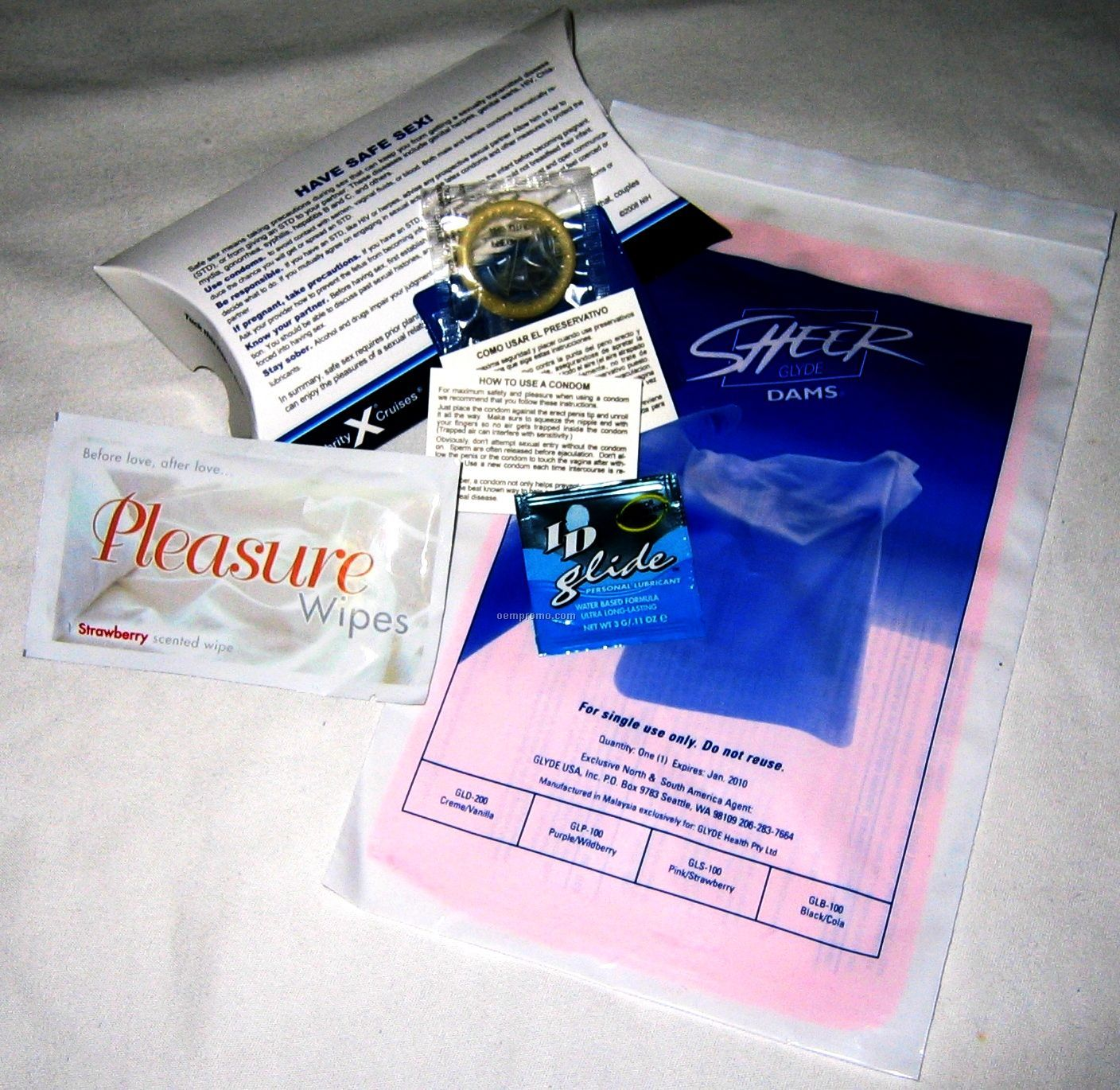 Safe Sex Dam Kit