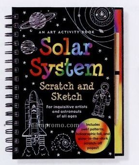 Scratch And Sketch Activity Book - Solar System