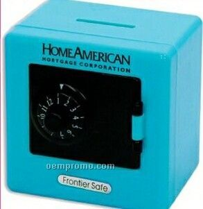 Blue Combination Safe/ Bank (Printed)