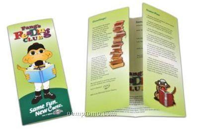 gate fold 8 page brochure w 100 gloss text china wholesale gate