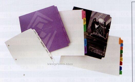 Custom Paper Index Tab (18 Tabs/ Set)