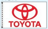 Individual Flag On Replacement Staff - For Cluster Set (Toyota)