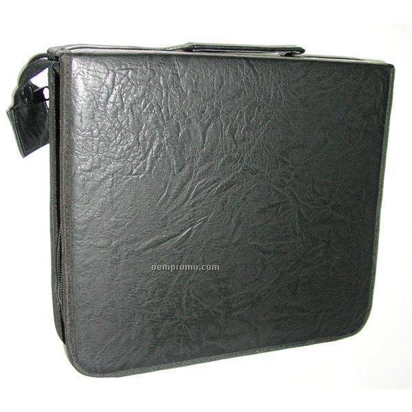 Rough Surface Simulated Leather CD Wallet