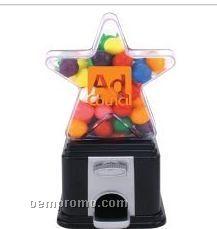 Star Themed Dispenser W/ Gumballs