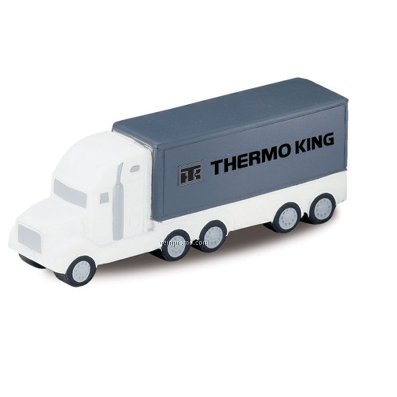 Tractor Trailer Squeeze Toy
