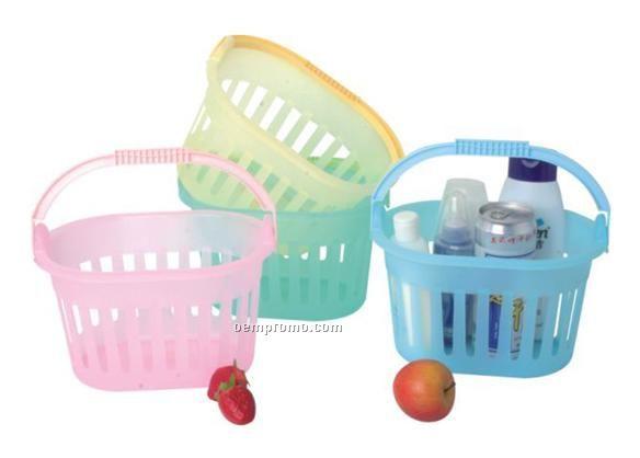 Basket W/One Handle