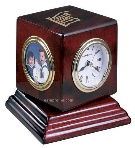 Howard Miller Reuben Clock W/ Picture Frame ( Blank)
