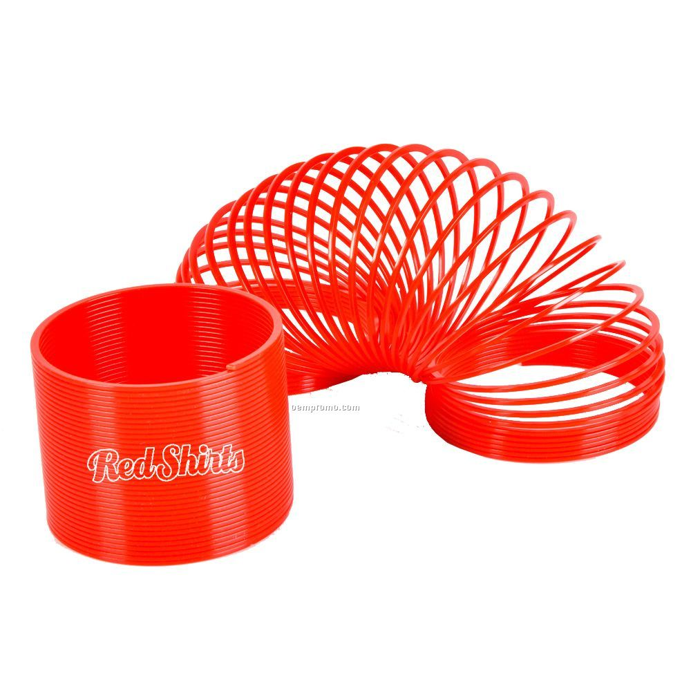 Red Coil Spring