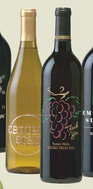 2008 Sonoma Coast Vineyards Freestone Hills Pinot Noir (Etched Wine)