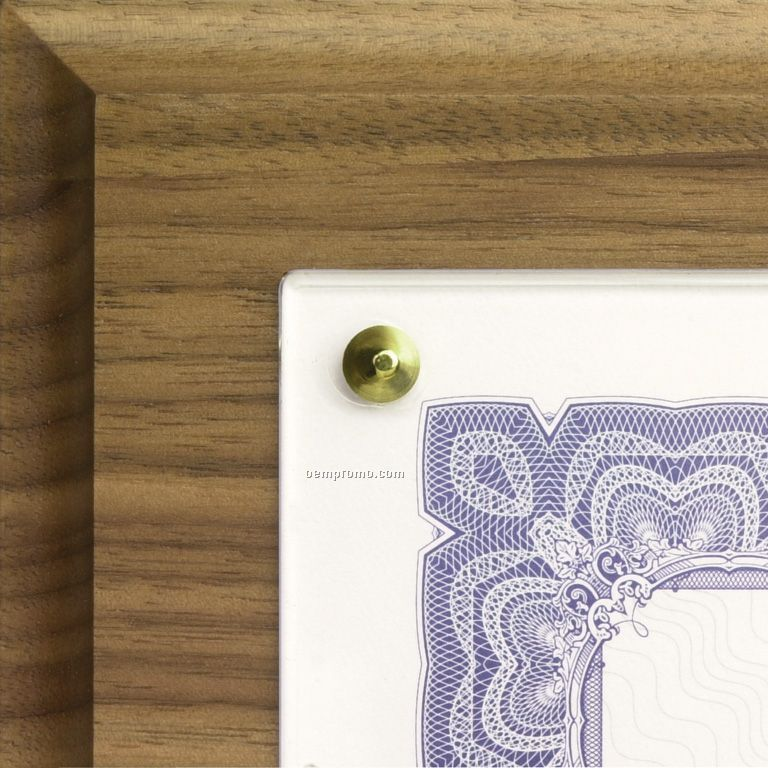 Walnut Composite Traditional Certificate Plaqueschina Wholesale