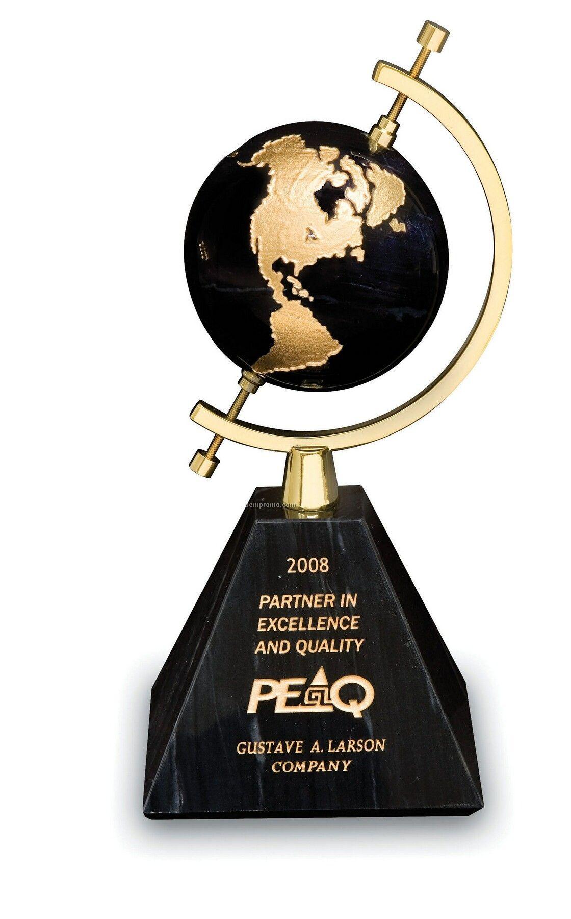 Odyssey Globe Award (Black Marble)
