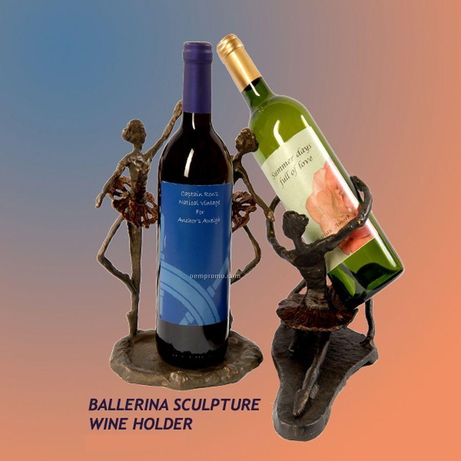 Single Ballerina Wine Holder