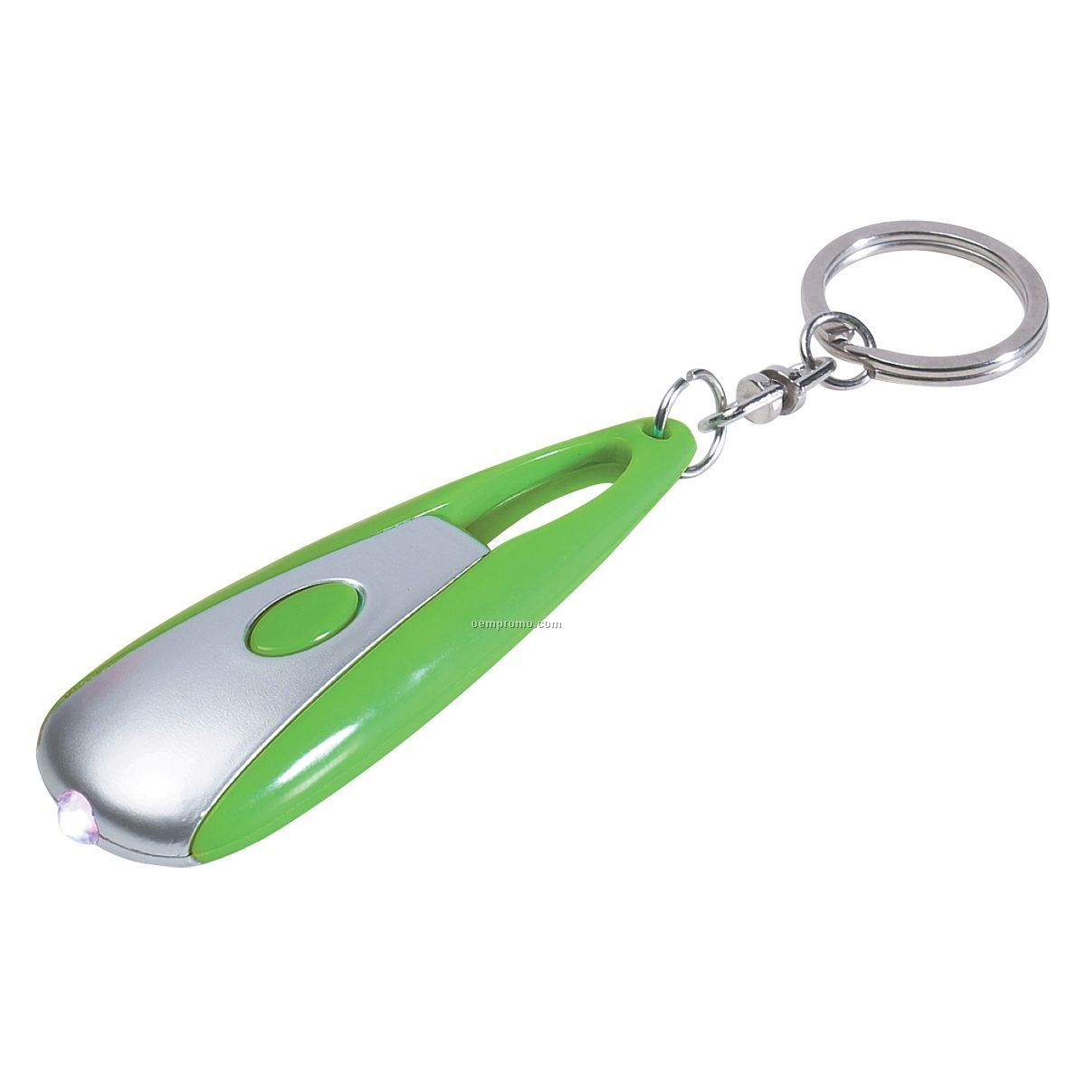 Cosmic Black Flashlight Keychain