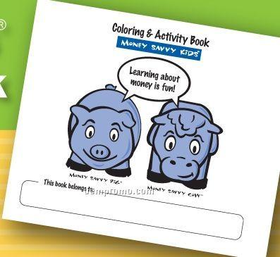 Money Savvy Kids Coloring & Activity Book