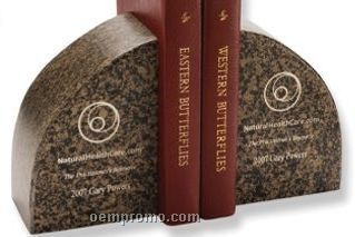 "Biocomposite Book Ends (4""X6""X3"")"