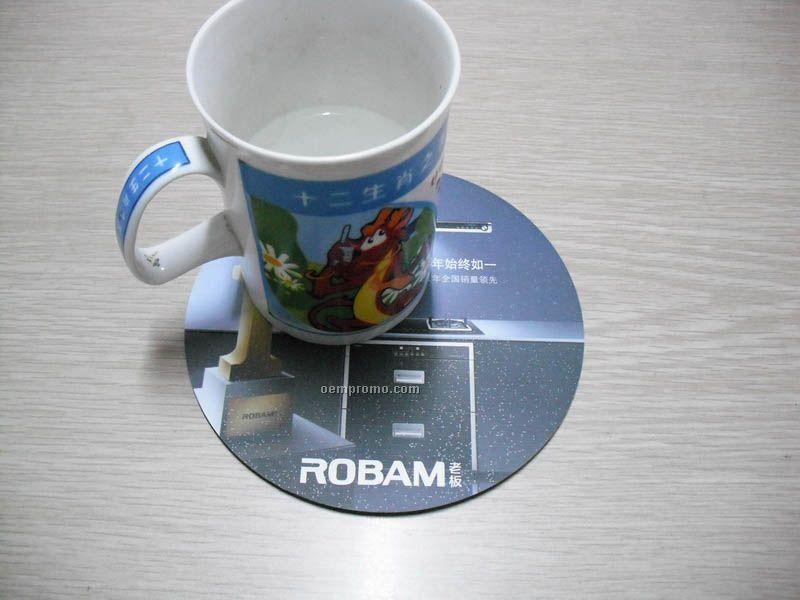 Custom Table Mat, Placemat, Cup Pad, Cup Mat.