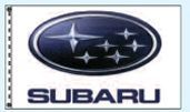 Individual Flag On Replacement Staff - For Cluster Set (Subaru)