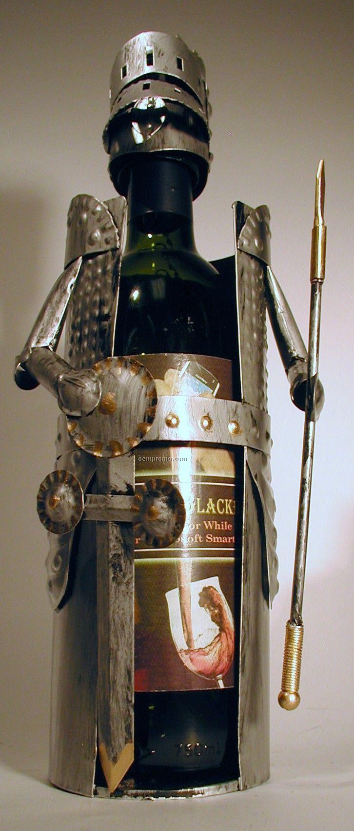 Knight Motif Wine Caddy