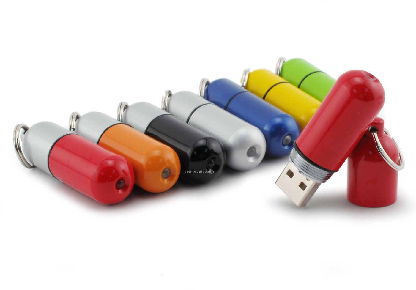 8 Gb Specialty 300 Series USB Drive - Capsule