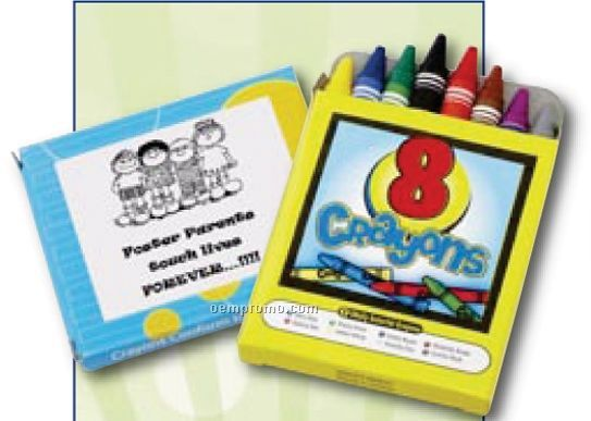 Cool Crayon Pack (8 Count)