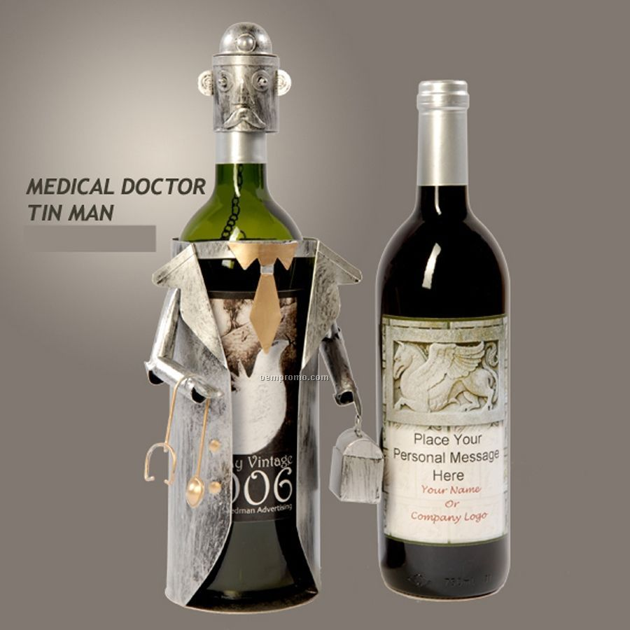 Doctor Tin Man Wine Caddy