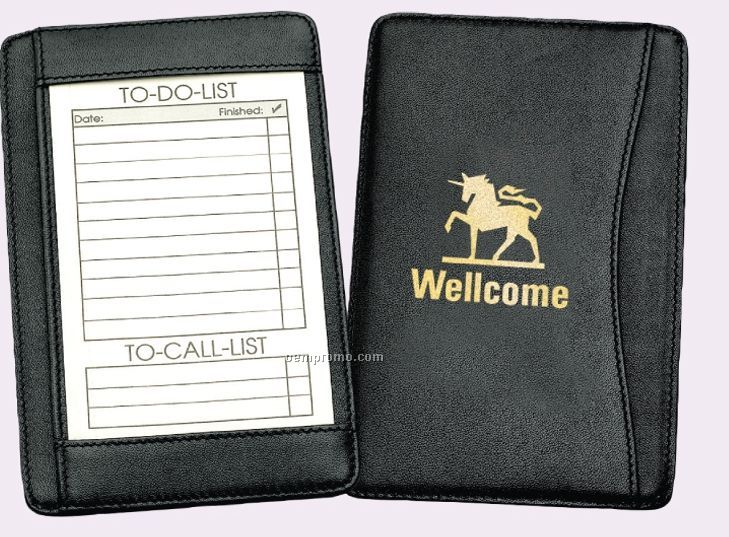 Euro Leather Note Jotter
