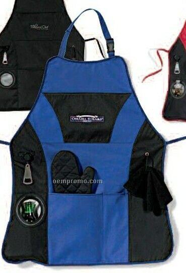 Grill Master Apron Kit / Royal Blue