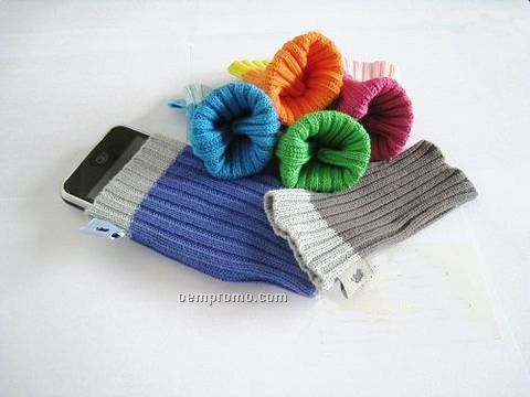 Sock Shape Cell Phone Case