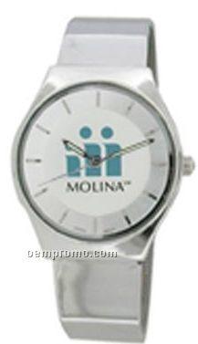 Cititec Gents Analog Quartz Watch (Solid Silver)