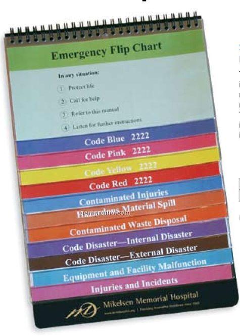 Ez Reference 12 Pocket Flip Chart