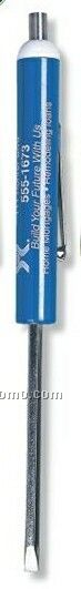 Reversible #3-4 Standard & #0 Phillips Screwdriver With Magnet Top