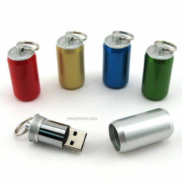 2 Gb Specialty 400 Series USB Drive - Soda Can