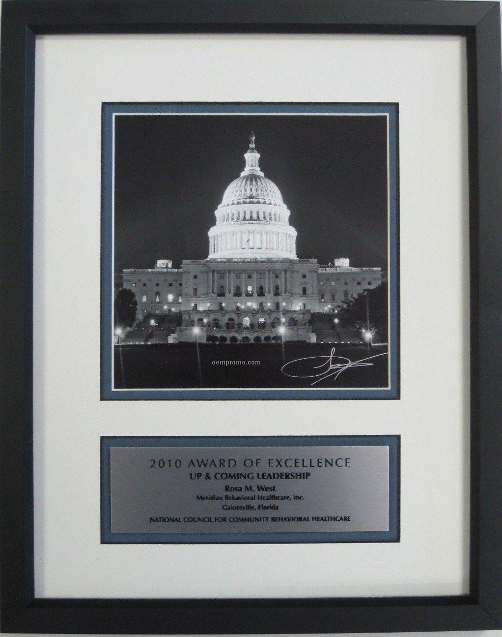 Custom Award Frame