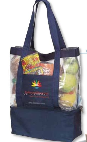 Dual Compartment Cooler & Tote Bag (Blank)