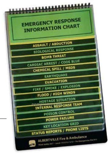 Ez Reference 16 Pocket Flip Chart