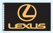 Individual Flag On Replacement Staff - For Cluster Set (Lexus)
