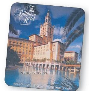 "Rectangle Sublimated Soft Mouse Pad With 1/8"" Backing (6""X7 1/2"")"