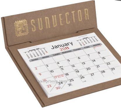V Natural 3 Month Jumbo Pop Up Calendar (Thru 8/1/2011)
