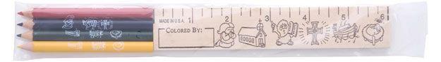 Dental Color Pencil & Ruler Pack