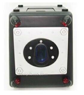 37cmx37cmx20cm Plastic Safe W/ Lock