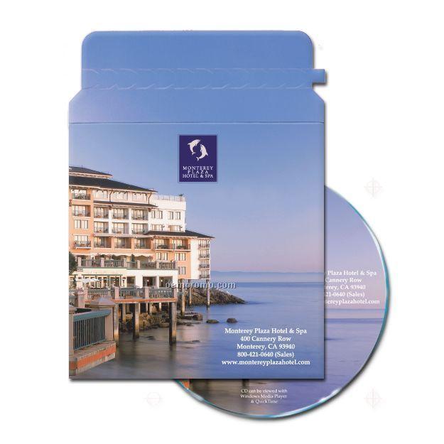 Cd-dvd Single Pocket Zip Mailer