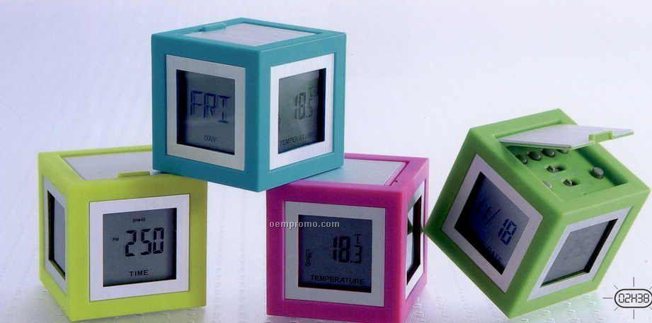Cubissimo Clock (5.1cmx5.1cmx5.1cm)