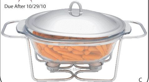 Maxam Oval Food Warmer