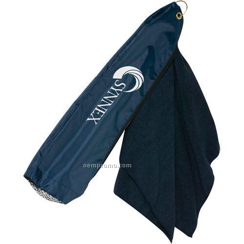 Golf Towel W/Bag