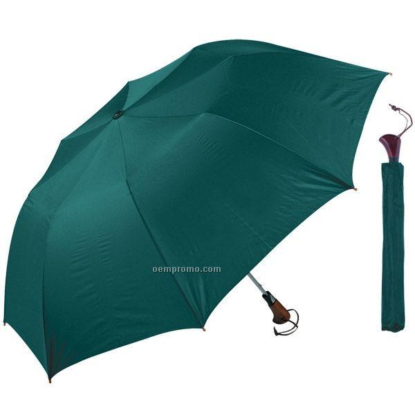 "Telescopic Folding Umbrella (56"" Arc) (Blank)"