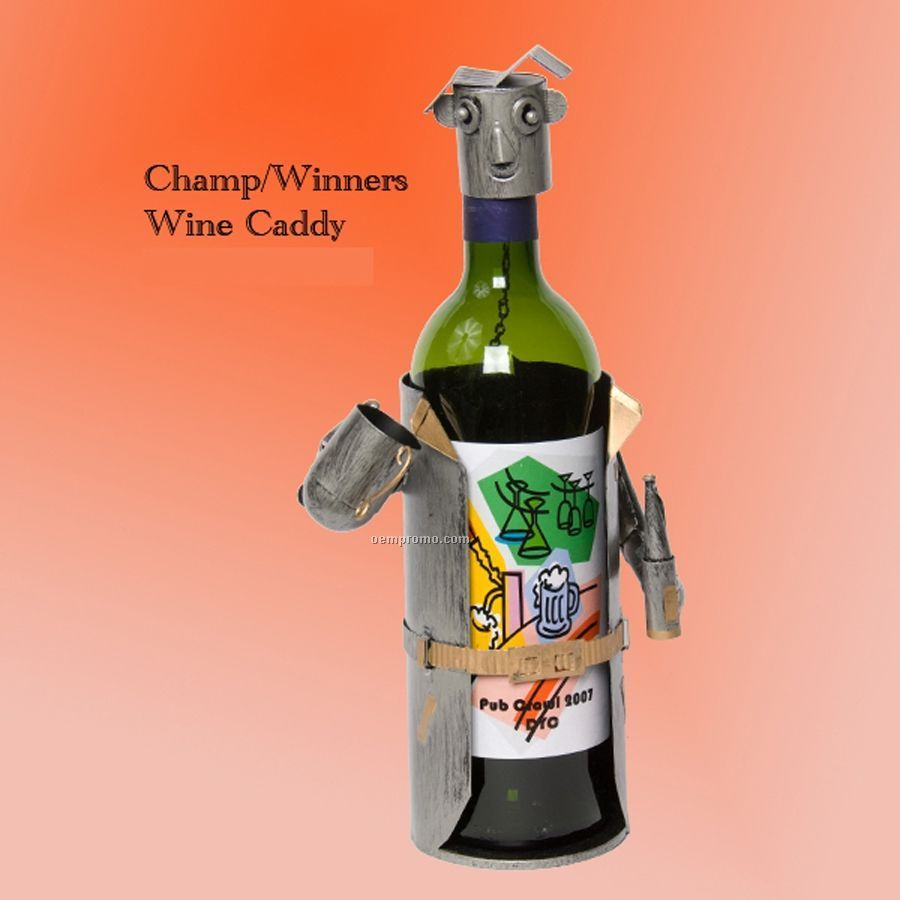 Coach - Winners Cup Tin Man Wine Caddy